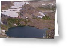 Frosty Lake Greeting Card