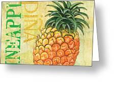 Froyo Pineapple Greeting Card by Debbie DeWitt