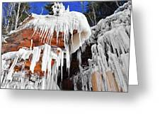 Frozen Apostle Islands National Lakeshore Greeting Card