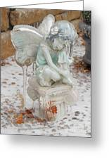 Frozen Fairy Greeting Card