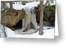 Frozen Fall Greeting Card