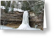 Frozen In Time Greeting Card