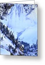 Frozen In Time Yellowstone National Park Greeting Card