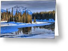 Frozen Jasper Paradise Greeting Card