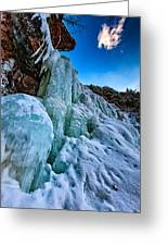 Frozen Kaaterskill Falls Greeting Card