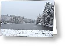 Frozen Lake 1 Greeting Card