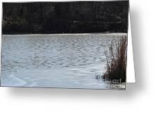 Frozen Lake 2 Greeting Card