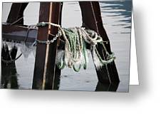 Frozen Ropes Greeting Card
