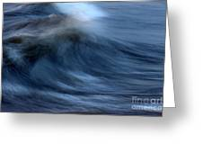 Frozen Swell Greeting Card