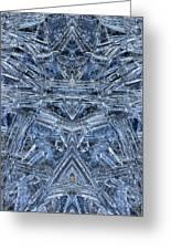 Frozen Symmetry Greeting Card