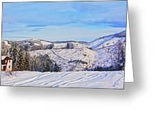 Frozen Valley 2 V3 Greeting Card