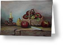 Fruit Basket - Lmj Greeting Card