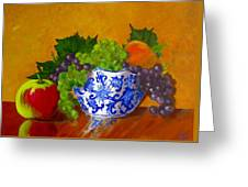 Fruit Bowl II Greeting Card