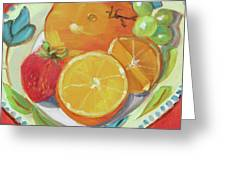 Fruit Bowl Greeting Card