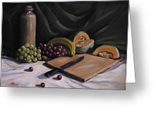Fruit By The Light Greeting Card