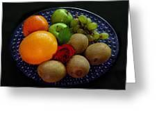 Fruit Dish Greeting Card