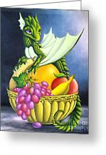 Fruit Dragon Greeting Card