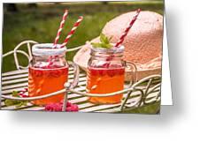 Fruit Drinks Greeting Card