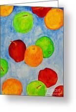 Fruit Drops Greeting Card