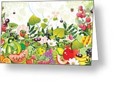 Fruit Garden Greeting Card