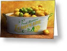 Fruit lemons when life gives you lemons photograph by mike savad fruit lemons when life gives you lemons greeting card m4hsunfo