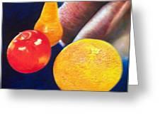 Fruit Lips Greeting Card
