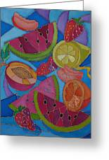 Fruit Mix Greeting Card