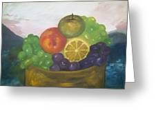 Fruit Of The Land Greeting Card