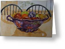 Fruit On The Table Greeting Card