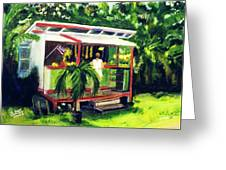 Fruit Stand North Shore Oahu Hawaii #163 Greeting Card