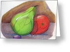 Fruit Still 34 Greeting Card