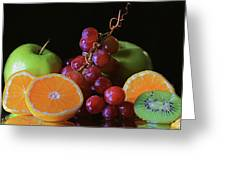 Fruit Still Life Greeting Card