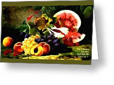 Fruit Still-life Catus 1 No. 1 H A Greeting Card