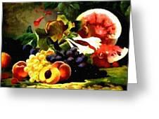 Fruit Still-life Catus 1 No 1 H B Greeting Card