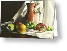 Fruit Still Life Greeting Card by Lori Keilwitz