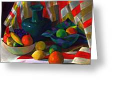 Fruit Still Life Greeting Card