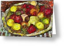 Fruitbowl Greeting Card