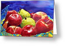 Fruitfully Yours Greeting Card