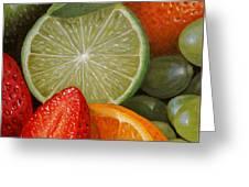 Fruitmix Greeting Card