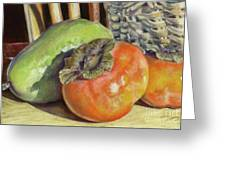 Fruits Of Autumn Greeting Card