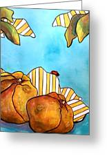 Fruits Of Passion Greeting Card
