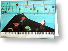 Fruity Tunes Greeting Card