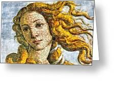 Fruity Venus I Am So Sorry Mr Boticelli Greeting Card