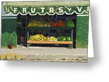 Frutas Y Greeting Card by Michael Ward