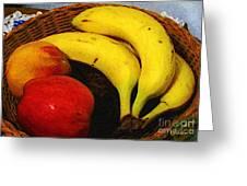 Frutta Rustica Greeting Card