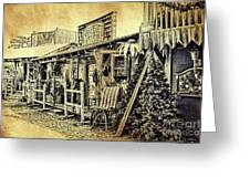 Ft. Apache General Store Greeting Card