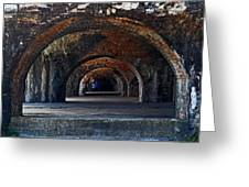 Ft. Pickens Arches Greeting Card