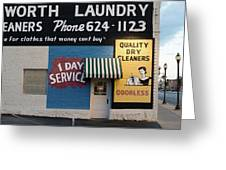 Ft Worth Cleaners  1927 81217 Greeting Card