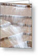Ft Worth Water Gardens Greeting Card