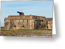 Ft. Pickens Gulf Islands National Seashore Greeting Card